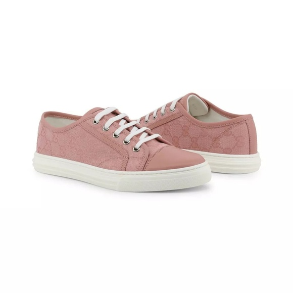 Gucci Shoes | Gucci Pink Gg Monogram